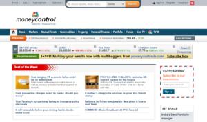 how to follow stock market money control