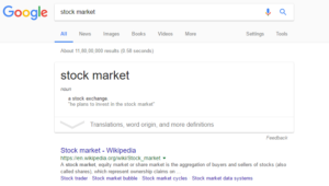 how to follow stock market google 2