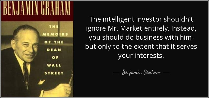 बेंजामिन ग्राहम द्वारा बुद्धिमान निवेशक