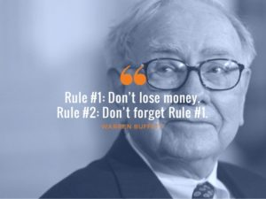 warren buffett rule no 1