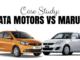 tata motors vs maruti suzuki case study